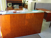 Reception Desks New Cherryman Jade Reception desk