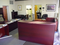 Reception Desks Cherryman L-shape reception desk