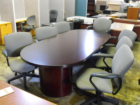 Conference Table Cherryman Racetrack Conference Table