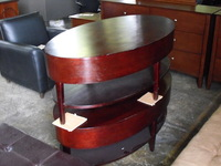 Home Furniture Oval Coffee Table