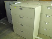 Lateral Files Hon 4 dr lateral file