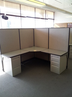Cubicles 6x6 Haworth cubicles