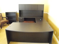 New Office Desks Amber Cherryman U shape w hutch
