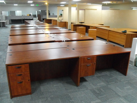 New Office Desks Used 6' laminate desks