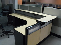 New Office Desks 6x10 reception desk