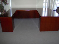 New Office Desks New U-Shaped Bow front Desk