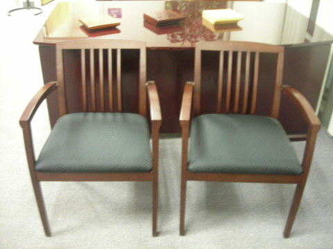 Guest/Side chair Cherryman Wood Side Chair